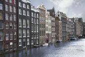 Canales de amsterdam — Foto de Stock