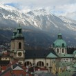 Stock Photo: Innsbruck city