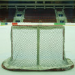 Ice hockey goal - Stock Photo
