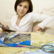 Tourist's map — Stock Photo #1599334