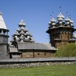 Wooden town 'Kizhi' - Stock Photo