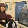 passenger roomette — Stock Photo