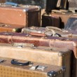 Royalty-Free Stock Photo: Old fashioned suitcases