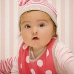 Yeni doğan bebek portresi — Stok fotoğraf