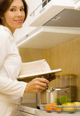 Cook-book — Stock Photo