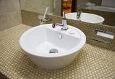 White sink — Stock Photo