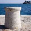 Sea bollard - Stock Photo
