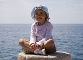 小女孩 — 图库照片