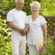 Mature loving couple — Stock Photo