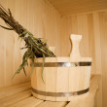 Steam bath-room — Stock Photo