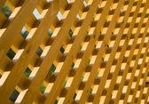 Wooden trellis — Stock Photo