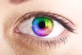 Multucolor vision — Stock Photo