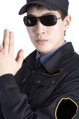 Police man — Stock Photo