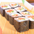 Stock Photo: Maki sushi with vegetables
