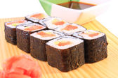 Maki sushi with tuna — Stock Photo