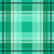 Stock Vector: Green scottish pattern