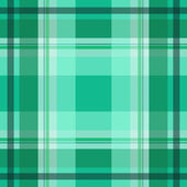 Green scottish pattern — Stock Vector