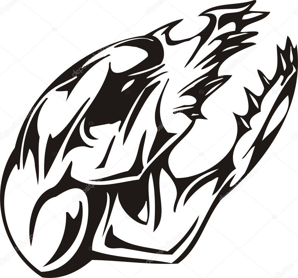 [eps] 骷髅头元素; 骷髅头元素; 矢量欧美花纹