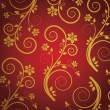 Royalty-Free Stock Vector Image: Retro wallpaper