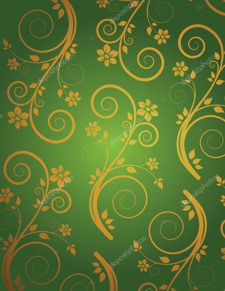 Retro wallpaper — Stock Vector #1542406