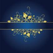Quadro floral — Vetorial Stock
