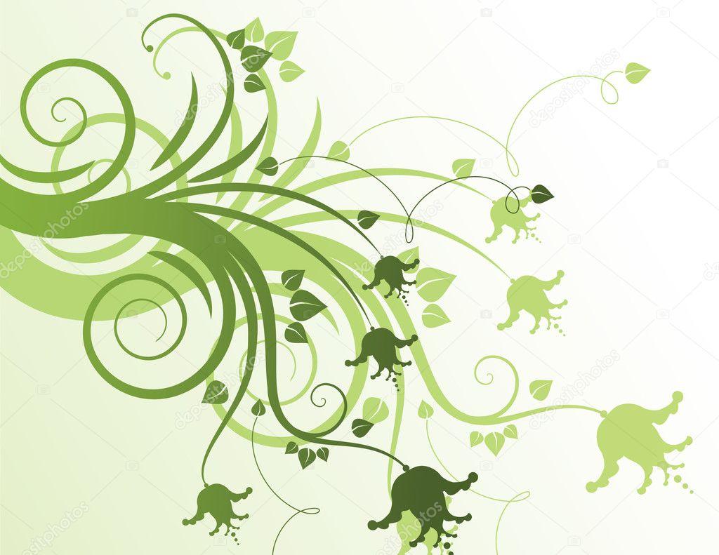 Floral Design Stock