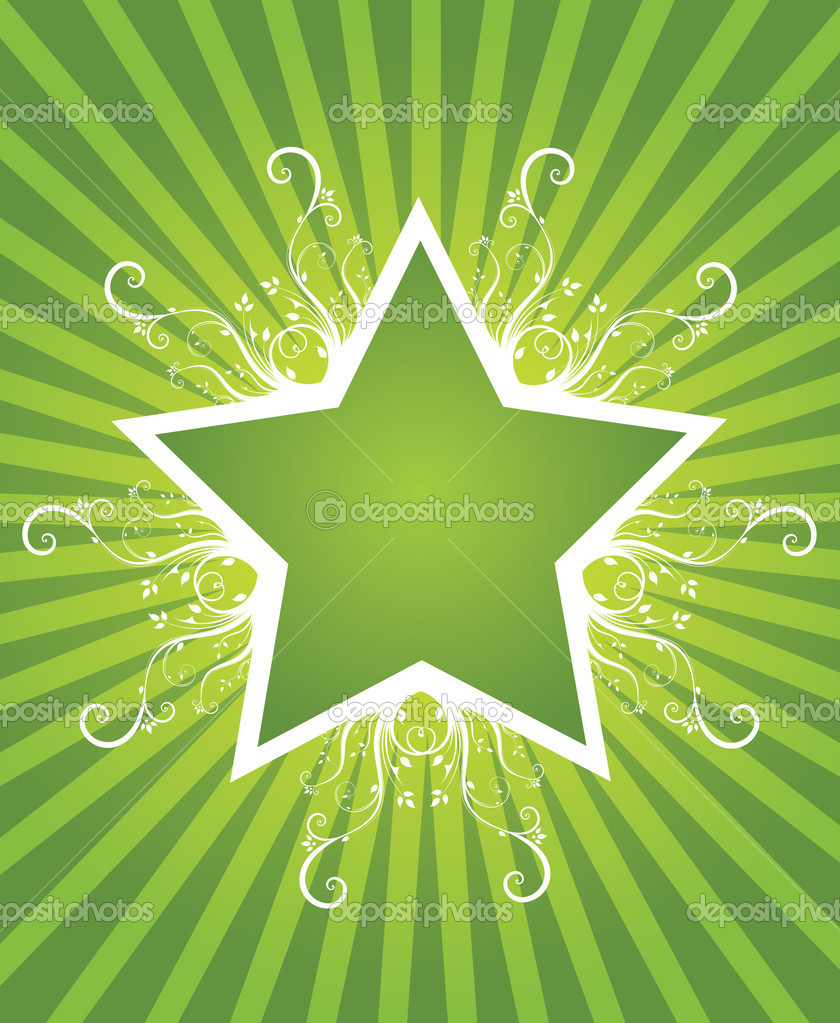 Summer star design — Stock Vector #1577369