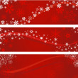 Vector de stock : Christmas banners