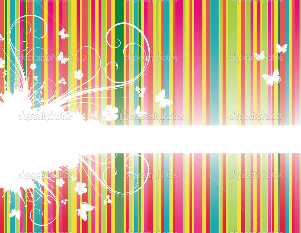 Background with stripes — Stock Vector #2001134