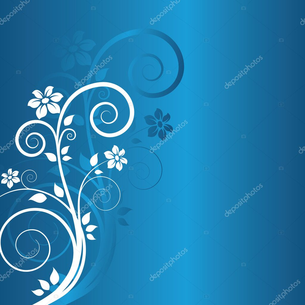 Winter floral background — Stock Vector #2001481