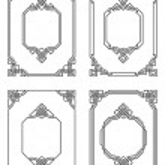 Set of ornamental borders — Stock Vector #1584259