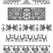 Royalty-Free Stock Vector Image: Borders, embroidery
