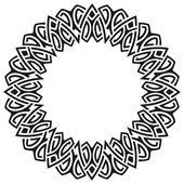 Circle frame — Stock Vector