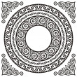 Circle frames - Stock Vector