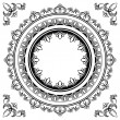 Circle frames — Stock Vector