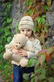 Teneri sentimenti di autunnali volte — Foto Stock