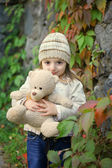 Tender feelings of autumn times — Stock Photo