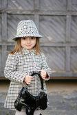 Piccolo bambino alla moda — Foto Stock