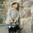 Small baby fashionable — ストック写真