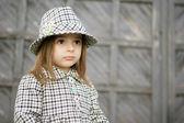 Small baby fashionable — Stock Photo