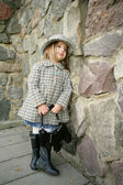 Small baby fashionable — 图库照片