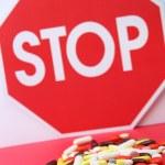 Stop pig flu — Stock Photo