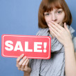Sale expectation — Stock Photo