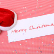 Royalty-Free Stock Photo: Congratulation from santa