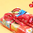 Valentine's day gift boxes — Stock Photo