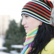 Woman in Snow — Stock Photo #1810970