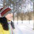 Woman in Snow — Stock Photo #1812459