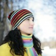 Woman in Snow — Stock Photo #1812993