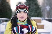 Winteremotionen — Stockfoto