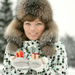 Winter holiday — Stock Photo
